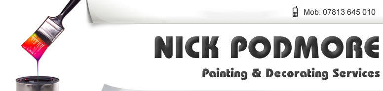 nick podmore painting decorator header
